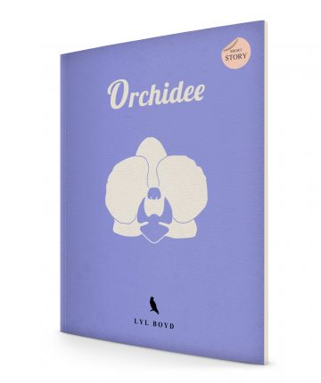 Orchidee Cover stehend